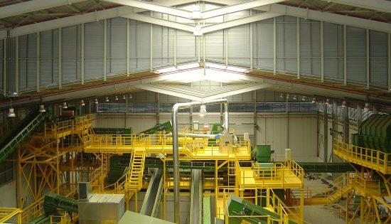 Centrale Traitement Emballages légers CASTELLON